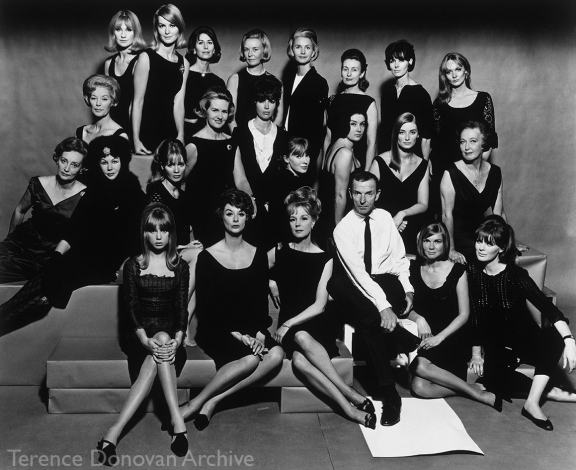 John French and models, 1964