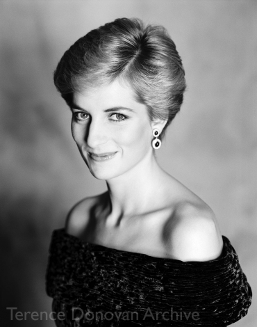 Diana, Princess of Wales. 8 October 1986
