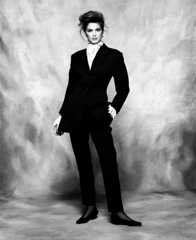 CIndy Crawford by Terence Donovan, 26 April 1988